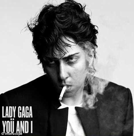 Lady Gaga como Jo Calderone en el cover de 'You and I' - GROSS!!!