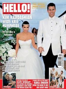 Kim Kardashian y su vestido de novia