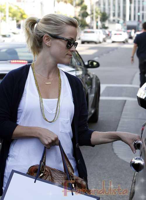 El ojo morado de Reese Witherspoon... Ouch!!
