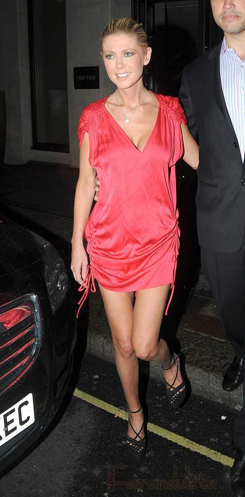 Tara Reid es abucheada al salir de UK Celebrity Big Brother... Ouch!