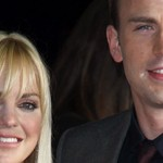 Anna Faris y Chris Evans en la Premier de What's Your Number?