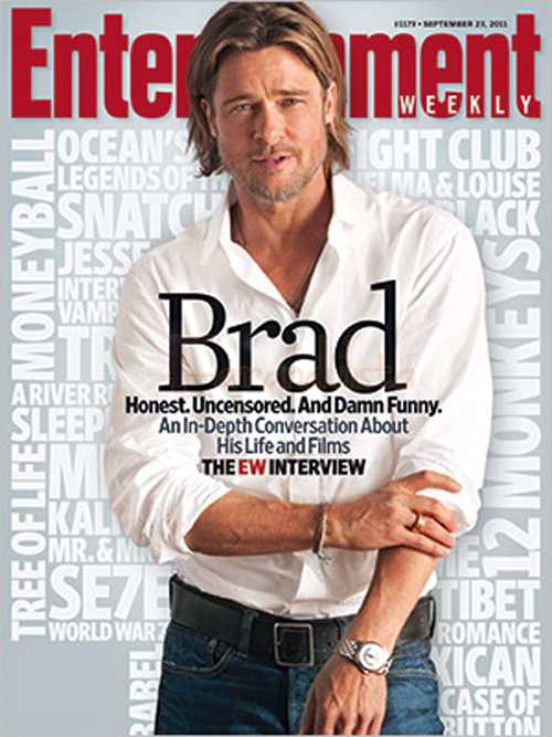 FYI: Brad Pitt en Entertainment Weekly