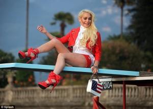 Lindsay Lohan es la nueva imagen de Philipp Plein (Who?)