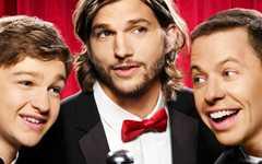 Promo de TV de Two and a Half Men – Manly Men con Ashton Kutcher OMG!