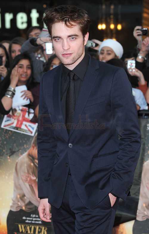 Robert Pattinson envidia el cuerpo de Taylor Lautner