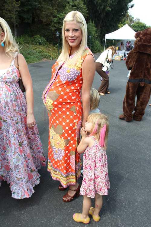 Tori Spelling tuvo su tercer baby, Hattie Margaret