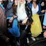 Lady Gaga demuestra su cariño a la policia de New York (NYPD)