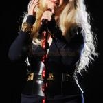 Christina Aguilera en el concierto tributo a Michael Jackson