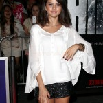 Selena Gomez en la Premier de The Thing