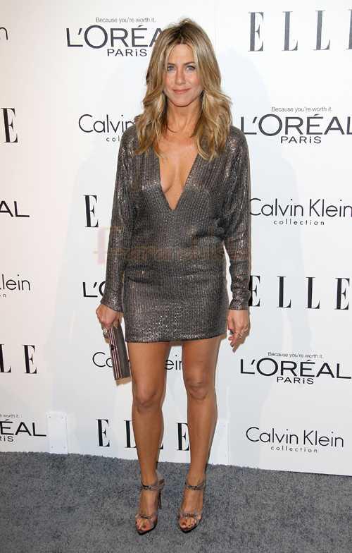 El look de Jennifer Aniston en el Elle's Women in Hollywood Tribute