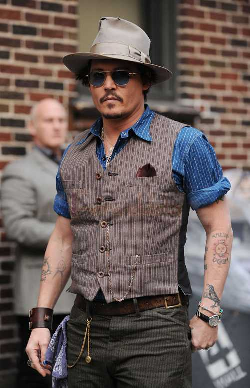 Johnny Depp en Late Show Con David Letterman - UPDATE!