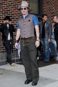 Johnny Depp en Late Show Con David Letterman - UPDATE!