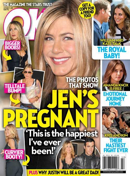 Jennifer Aniston EMBARAZADA? Nope, no está desesperada