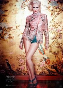 Gwen Stefani en InStyle habla sobre su famoso look