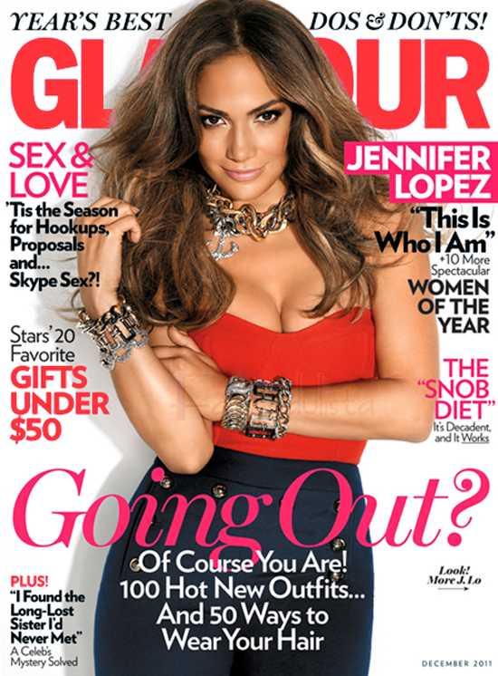 Jennifer Lopez en Glamour Magazine [Diciembre 2011]