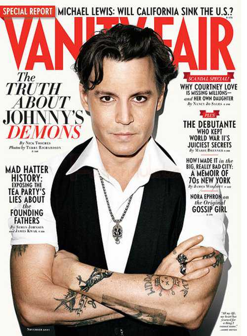 Guess what? Johnny Depp se disculpa por sus comentarios en Vanity Fair