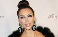 Kim Kardashian en el Angel Ball 2011