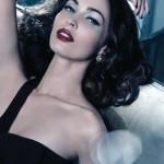 Megan Fox para Armani Madre Perla Makeup Collection