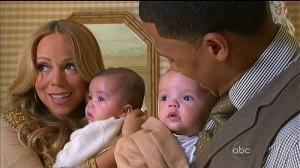 Mariah Carey presenta a sus gemelos Moroccan y Monroe en 20/20