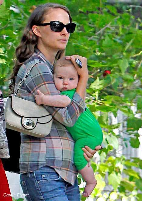 Natalie Portman y su hijo Aleph - Awww so CUTE!!!
