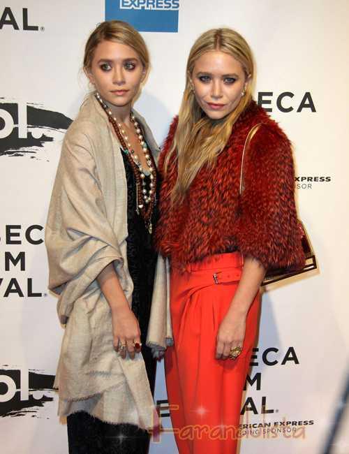 Mary-Kate y Ashley Olsen las Mejor Vestidas 2011 según Vogue