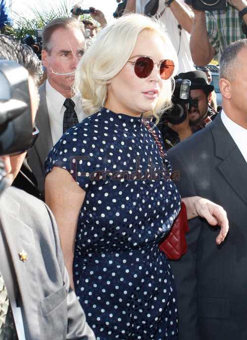 Lindsay Lohan 30 dias a prisión - Dentro de una semana