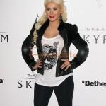 Christina Aguilera y Matt Ruttler muestran su amor a los paps - ORANGE!!!!