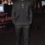 Robert Pattinson y Kristen Stewart en la Premier de Breaking Dawn
