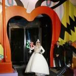 Lady Gaga en la apertura de Gaga's Workshop en Barneys New York