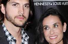 Ashton y Demi arreglando su matrimonio en casa de Bruce?