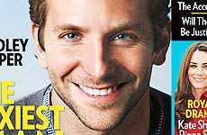 Bradley Cooper es el Hombre Más Sexy 2011 – People
