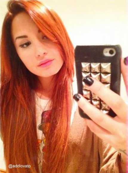 Demi Lovato cambia su look - Ahora es pelirroja- CUTE!!