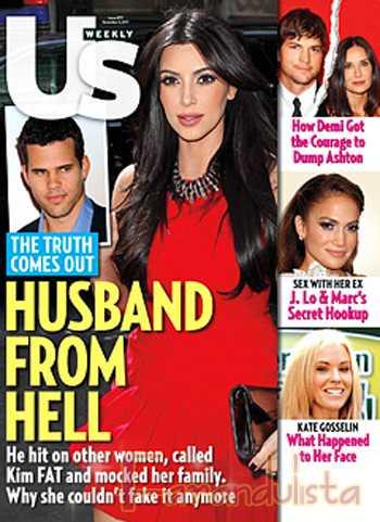 Kris Humphries demanda a Kim K por millones? La llama FAT!?