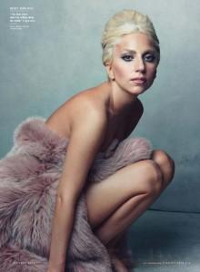 Lady Gaga en Vanity Fair Magazine Al DESNUDO! NSFW