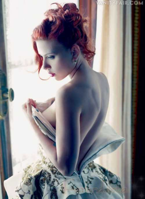 Scarlett Johansson: las fotos desnudas eran para Ryan Reynolds