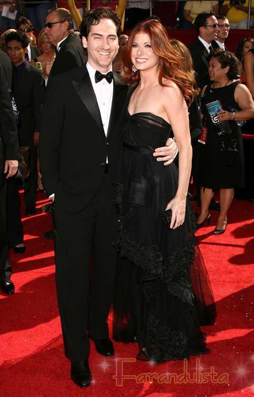 Debra Messing y su esposo Daniel Zelman se divorcian