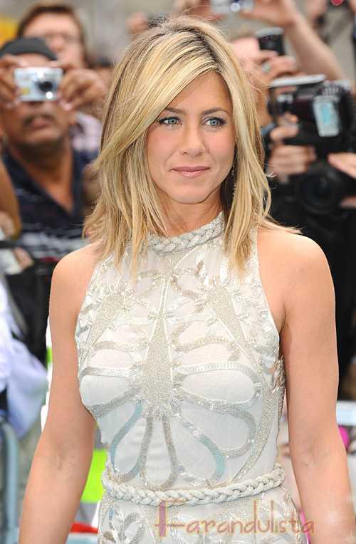 Jennifer Aniston usaba extensiones