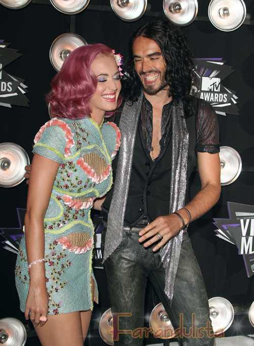 Katy Perry & Russell Brand ... problemas en el paraiso?