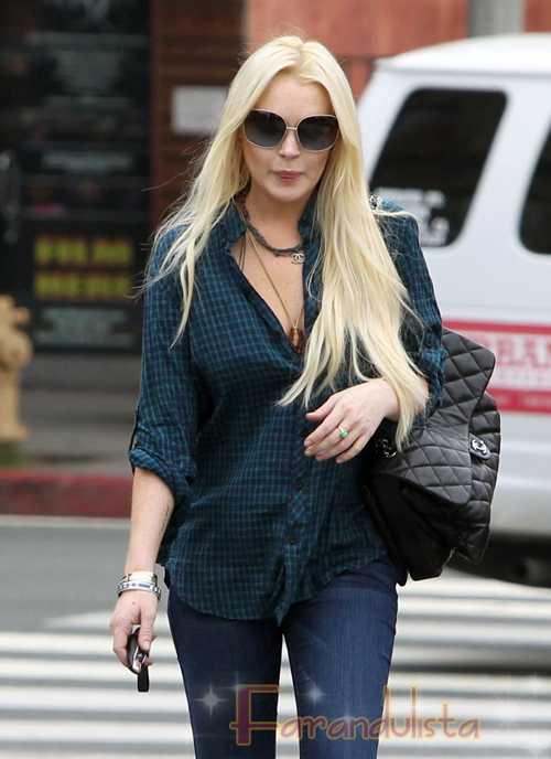 Lindsay Lohan se perdió la grabación del show de Ellen DeGeneres