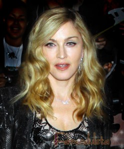 Madonna luce GENIAL!!! Premier de W.E en New York