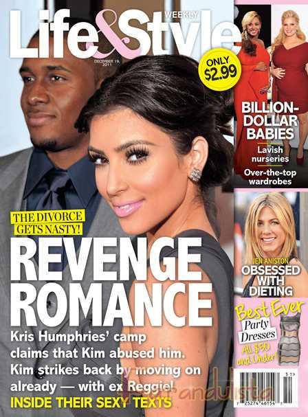 Kim Kardashian se reune con su ex Reggie Bush? [Life&Style]