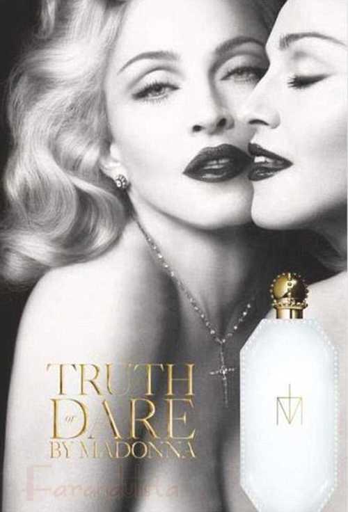 Promo de la nueva fragancia de Madonna, Truth or Dare