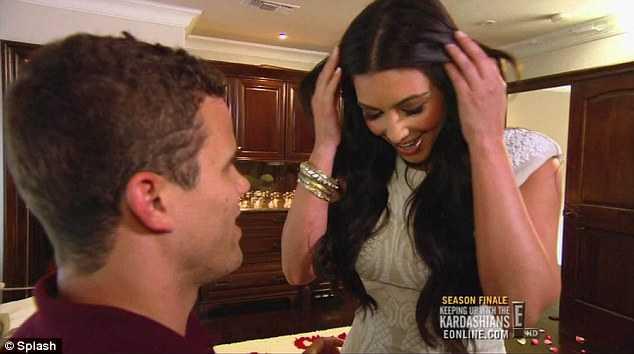 Kim Kardashian planeó todo, proposición y boda! OMG!