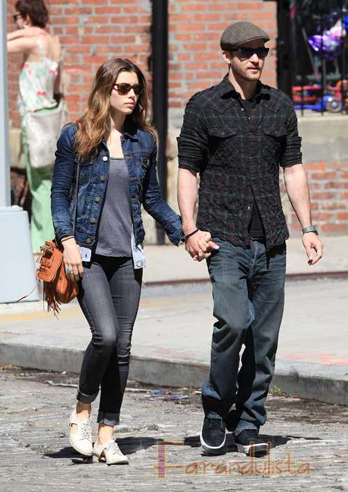 Justin Timberlake y Jessica Biel comprometidos!