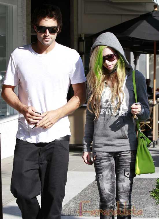 Avril Lavigne & Brody Jenner terminaron!
