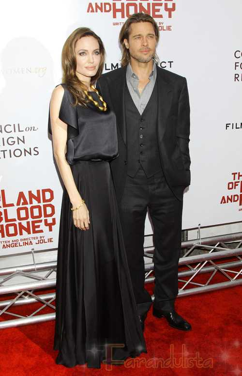 Angelina Jolie le compra una cascada a Brad Pitt en California