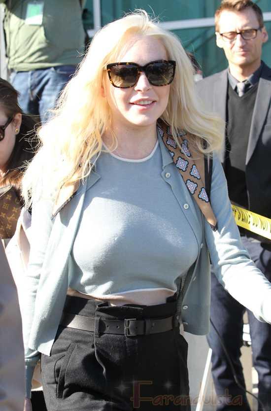 Canadá no quiere a Lindsay Lohan como Liz Taylor - LOL!