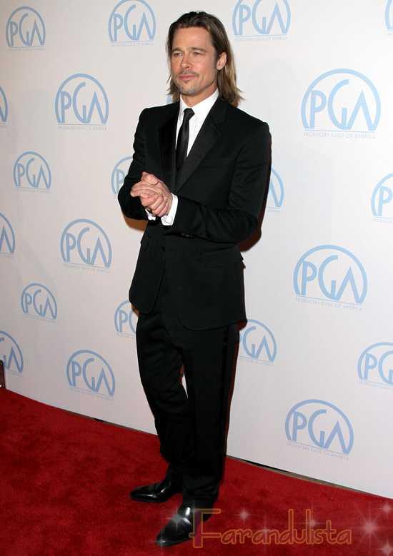Nominados al Oscar 2011 - Brad Pitt, George Clooney y Michelle Williams