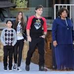Hijos de Michael Jackson inmortalizan a su padre en L.A