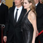 Angelina Jolie y Brad Pitt en los SAG Awards 2012 - Red Carpet - Ganadores